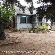 Rental info for 12657 Se Bush St
