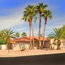 Rental info for 8702 East San Daniel Drive