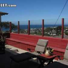 Rental info for Four Bedroom In Western San Diego in the Sunset Cliffs area