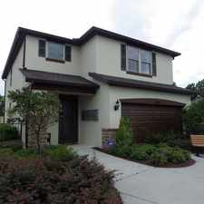 Rental info for 3 bedrooms, 2.5 bathrooms and a two car garage!