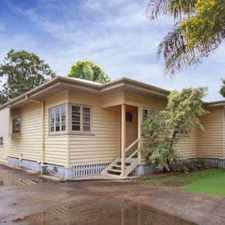 Rental info for FULLY FENCED, PET FRIENDLY, CONVENIENT LOCATION! in the Geebung area