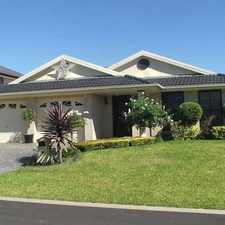 Rental info for Single level 4 bedroom home - carpet free home! in the Kellyville Ridge area