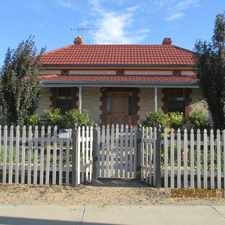 Rental info for LOVELY 3 BEDROOM STONE HOME in the Murray Bridge area