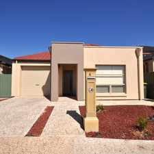 Rental info for BEAUTIFUL FAMILY HOME in the Mawson Lakes area