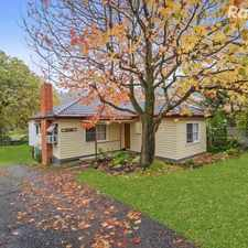 Rental info for Leafy Neighbourhood in the Upper Ferntree Gully area