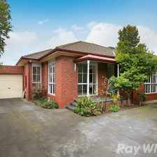 Rental info for Light, bright and spacious rear unit! in the Melbourne area