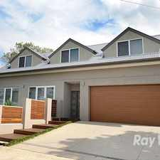 Rental info for A custom designed 3 bedroom plus study townhouse