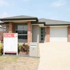 Rental info for NEAR NEW 3 BEDROOM HOME IN NORTH LAKES STATE SCHOOL CATCHMENT in the Rothwell area