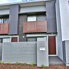 Rental info for Stylish & Modern Townhouse in the Brisbane area