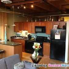 Rental info for Stunning 2 Bdrm Loft Condo For Rent in the Brewer's Hill area