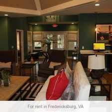 Rental info for Outstanding Opportunity To Live At The Fredericksburg City Club