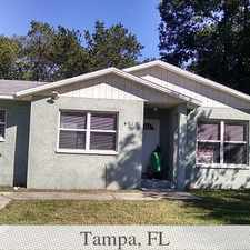 Rental info for Tampa, prime location 3 bedroom, House. Washer/Dryer Hookups! in the Live Oaks Square area