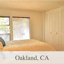 Rental info for Great location in the Grand Lake neighborhood. in the Piedmont Avenue area