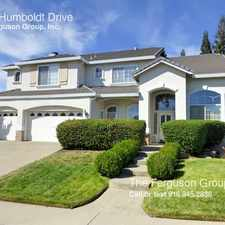 Rental info for 5310 Humboldt Drive in the 95765 area