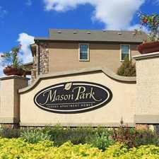 Rental info for Mason Park