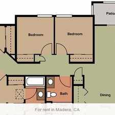 Rental info for Gorgeous Madera, 2 bedroom, 2 bath. Covered parking!