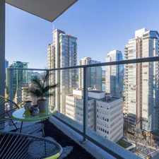 Rental info for W Pender St & Bute St in the Vancouver area