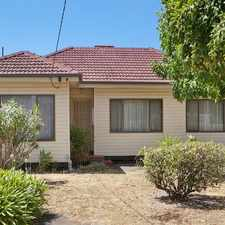 Rental info for Family Home in the Springvale area