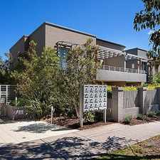 Rental info for A relaxed lifestyle apartment in a superb locale in the Northbridge area