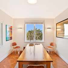 Rental info for DEPOSIT TAKEN in the Rose Bay area
