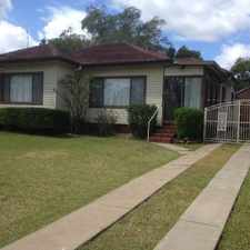 Rental info for BEAUTIFUL HOME - A MUST TO INSPECT - WALK TO NEPEAN HOSPITAL in the Penrith area