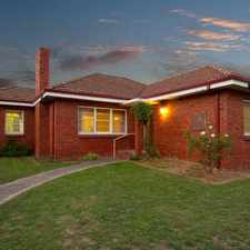 Rental info for DELIGHTFUL FAMILY HOME ON A LARGE BLOCK in the Hughesdale area