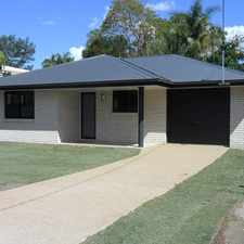Rental info for NEWLY BUILT IN FRENCHVILLE in the Rockhampton area