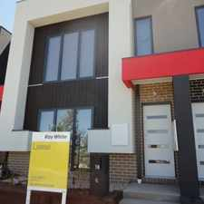 Rental info for Desirable Townhouse In A Top Location in the Melbourne area