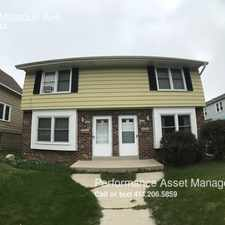 Rental info for 1226 Missouri Ave in the South Milwaukee area