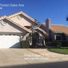 Rental info for 4851 Forest Oaks Ave in the Banning area