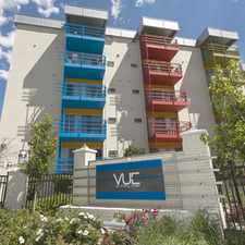 Rental info for The Vue in the Denver area