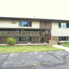 Rental info for 2 Bedroom in Plover Available August 1st!