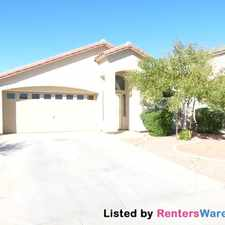 Rental info for 41322 W Brandt Dr in the Maricopa area