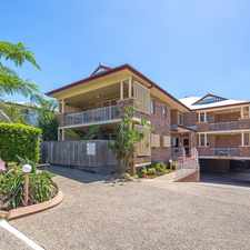 Rental info for BRIGHT AND BREEZY TWO BED TWO BATH UNFURNISHED APARTMENT in the Brisbane area
