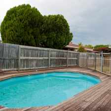 Rental info for PERFECT FAMILY HOME! in the Brisbane area