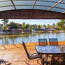 Rental info for Awesome Canal Front House in the Mooloolaba area