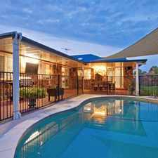 Rental info for Quality Home plus Pool! in the Rothwell area