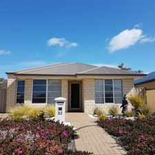 Rental info for As new in Abbey in the Busselton area