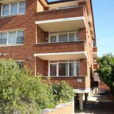 Rental info for BRIGHT & SPACIOUS 1 BEDDER in the Sydney area