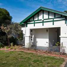 Rental info for Well Presented Two Bedroom Home in the Adelaide area