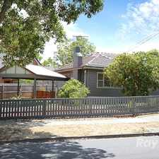 Rental info for FAMILY HOME IN A PRIME POSITION in the Watsonia area