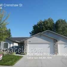 Rental info for 1309 W Crenshaw St