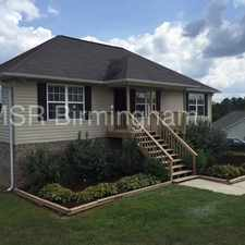 Rental info for 1075 Sky View Ln., Odenville 35120