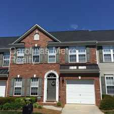 Rental info for Three bedroom town home in wonderful location. in the Brown Road area