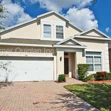 Rental info for Stunning Well Maintained 5/4 Home With Pool in Davenport