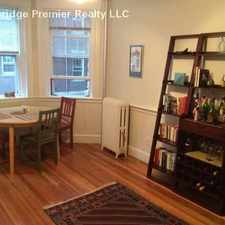Rental info for Massachusetts Ave & Ellery St in the Mid-Cambridge area