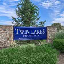 Rental info for Twin Lakes