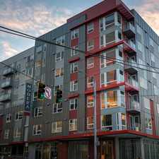 Rental info for Modera South Lake Union in the Seattle area