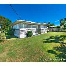 Rental info for Flawlessly Renovated! in the West Rockhampton area