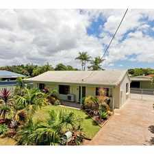 Rental info for Neat & Tidy 3 x Bedroom Home with Double Shed in the Brisbane area